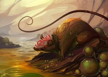 Plague Spirit by Lanasy
