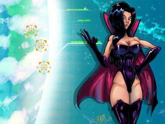 The Vibrantly Dark Queen by CaptainVigilante