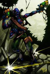 Alien Hunter by CaptainVigilante