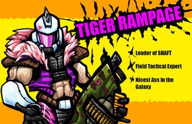 Tiger Rampage by CaptainVigilante
