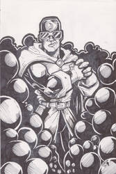 Raw Card: Doctor Midnite from DC Comics