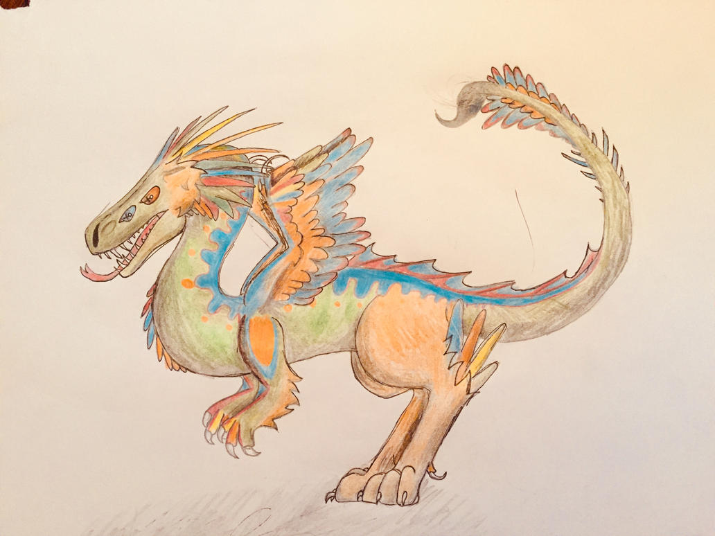 Shapeshifter Dragon by TheDracoDrawer123