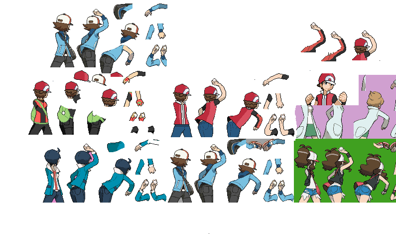 PKMN Trainer Red Sprite THE CREATION by PokemonBrendan on ...