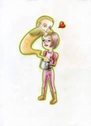 DS9: Kira loves Odo by Jie-n