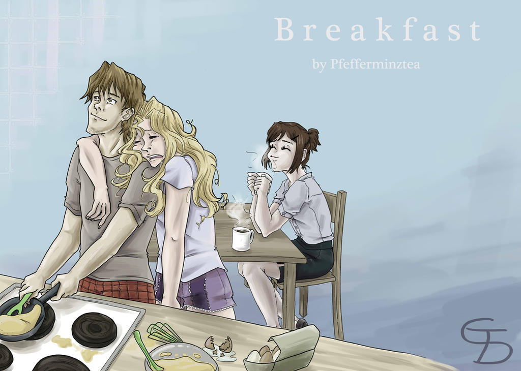 YGO: Breakfast by Jien-chan