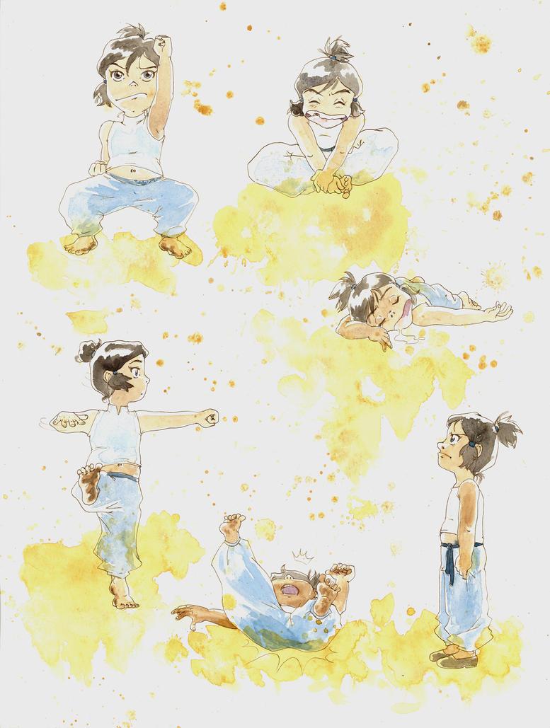 TLOK: Lil' Korra by Jie-n
