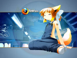 Firefox wallpaper by Tybtsee