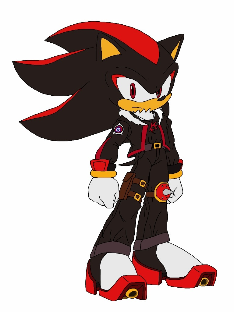 shadow the hedgehog undressed