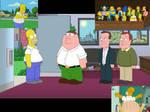 Simpson Cameos on Family Guy