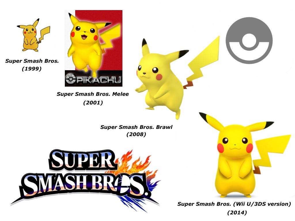 Pikachu Super Smash Bros Evolution By Delvallejoel On