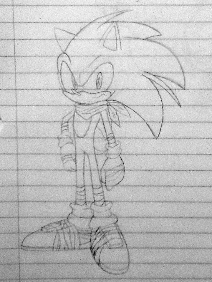 Sonic The Hedgehog Sonic Boom Sketch By Delvallejoel On Deviantart