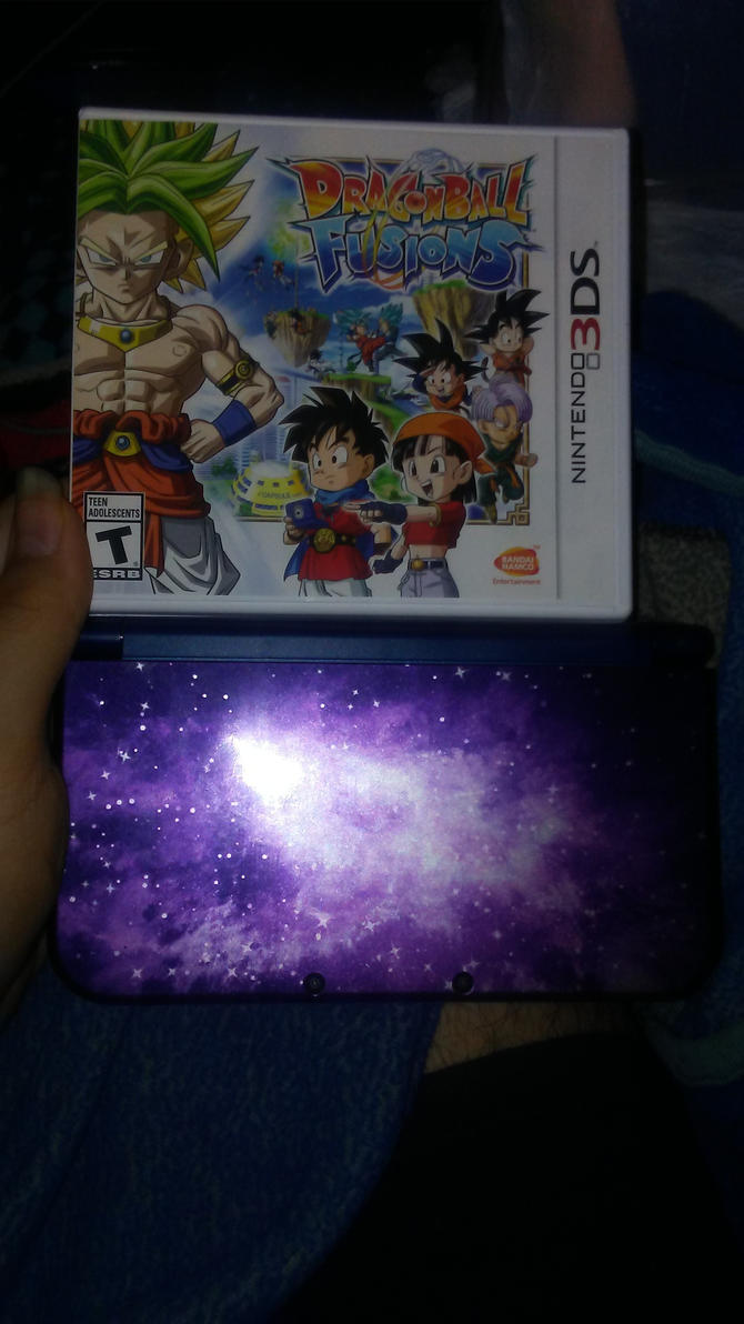 Dragon Ball Fusions and Nintendo 3DS XL by delvallejoel