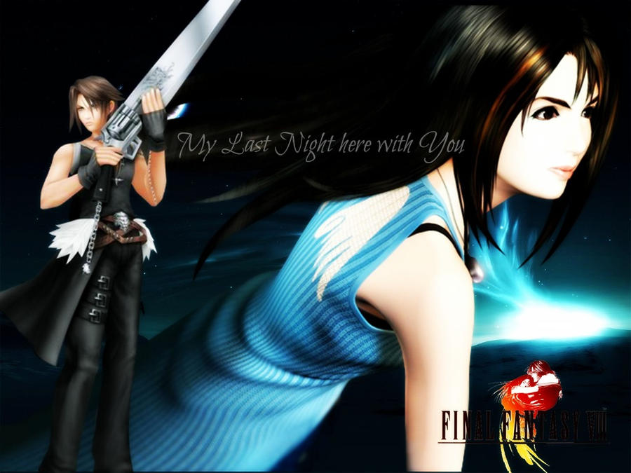 Final Fantasy VIII - Squall Final Fantasy Rinoa And Squall