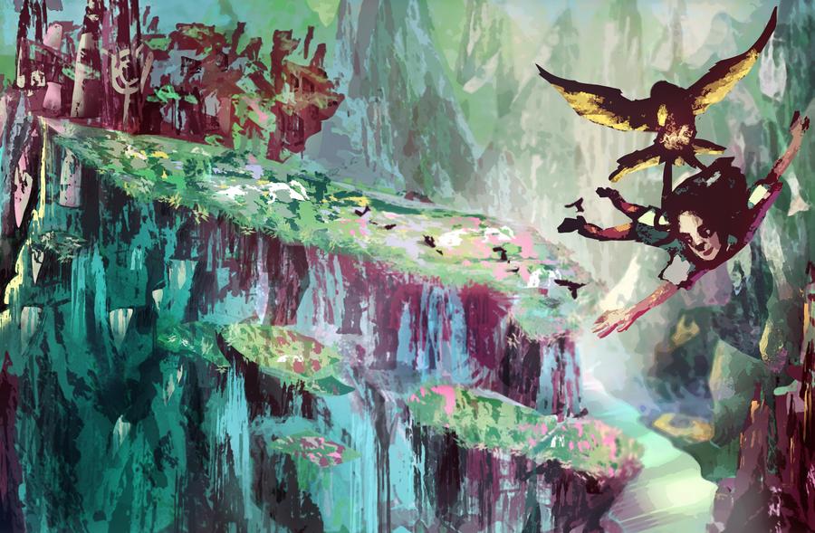 The flight by Nei-li