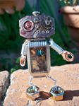 Steampunk Mini Robot
