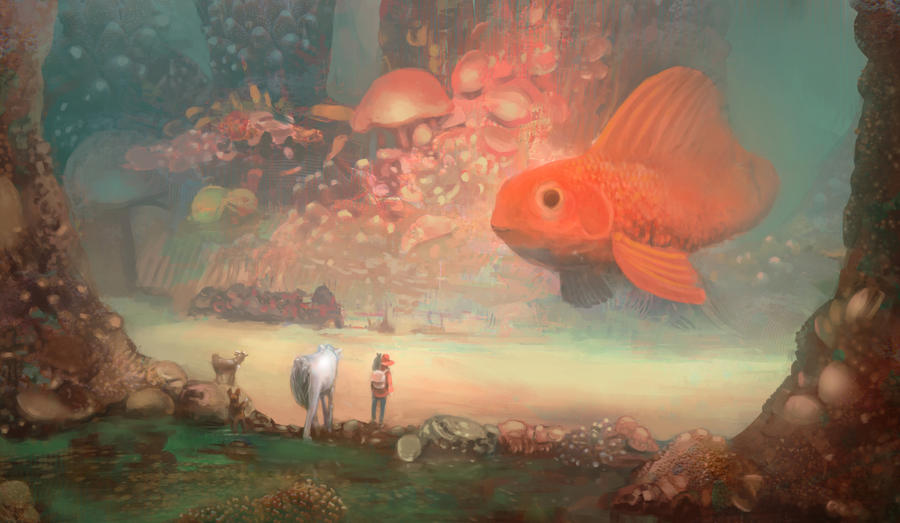 The journey and the big fish