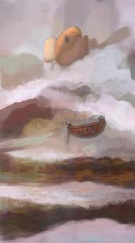Boat and fish