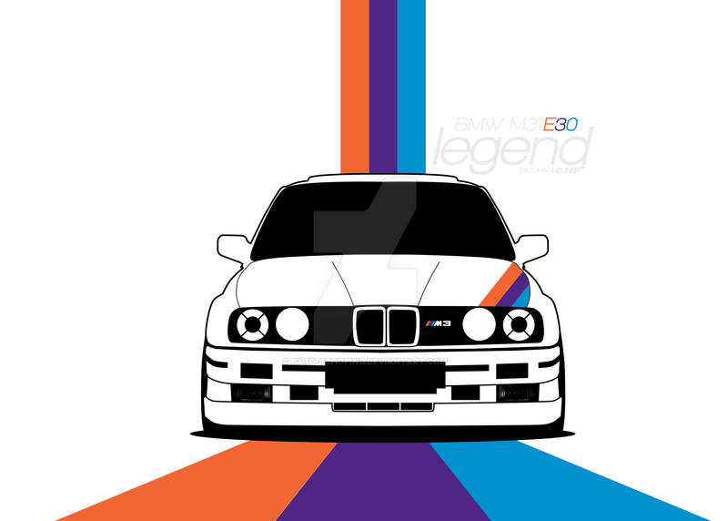 Bmw M3 E30 By Batu Rchoping On Deviantart