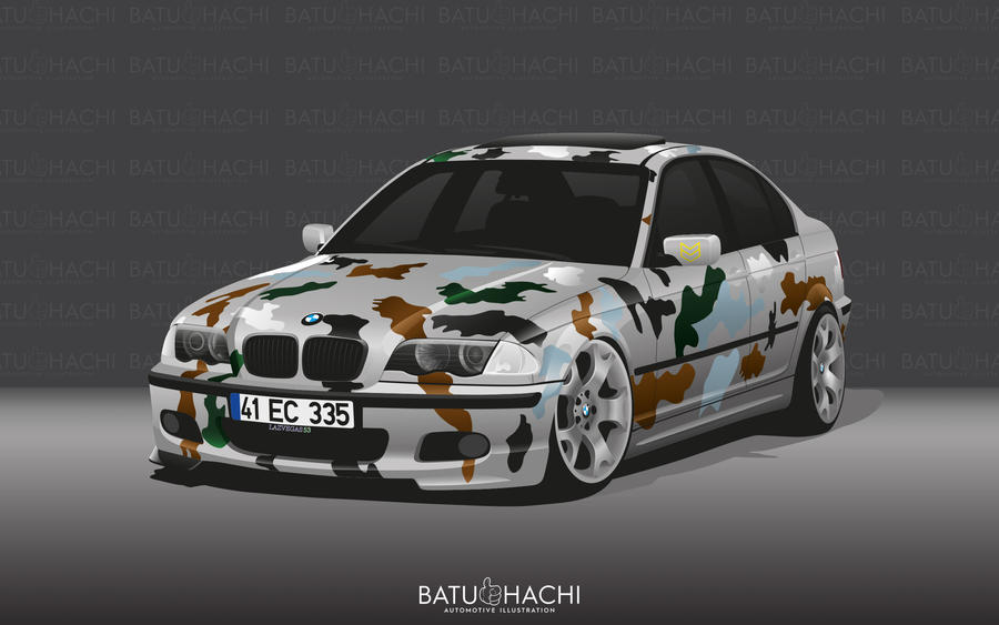 BMW 3.18i by Batu-RChoping