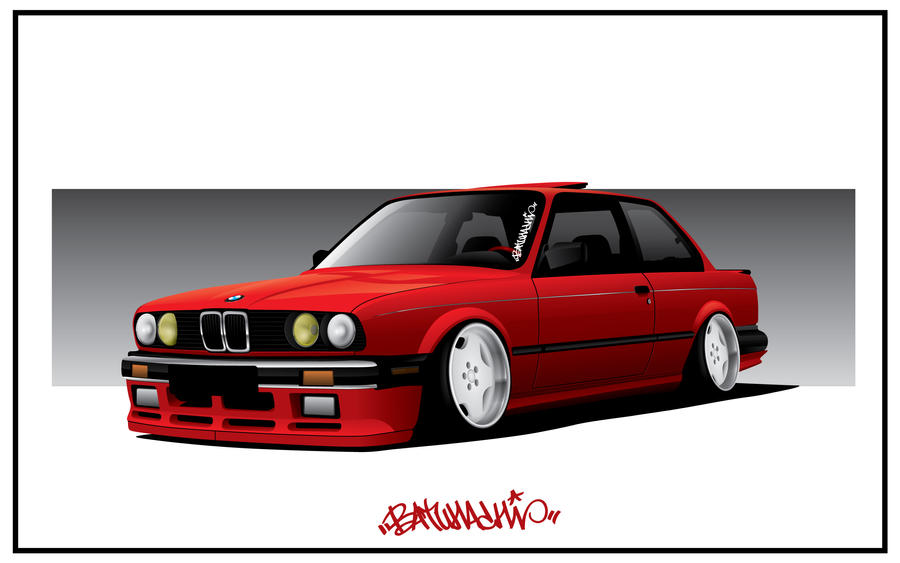 Ryan's Slammed E30 x LOLBAGS by Batu-RChoping