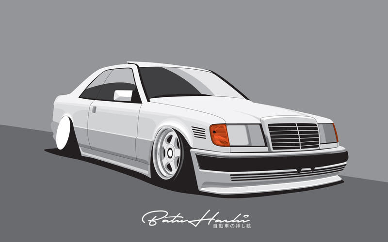 W124 Coupe WIP by Batu-RChoping