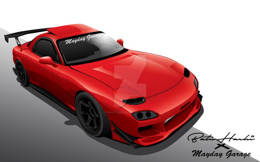 Mazda RX-7(FD3S) by Batu-RChoping