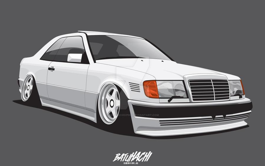 SlammedUK - Mercedes Benz W124 by Batu-RChoping