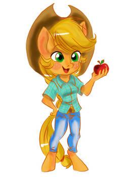 cute Apple Jack