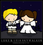 Luke and Leia Skywalker