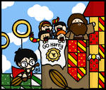 Harry's First Match