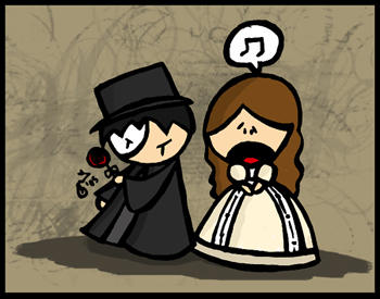 Phantom of the Opera by cippow25