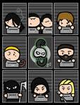 Death Eaters' Mugshots