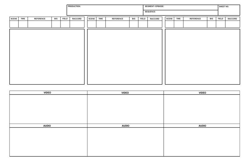 Blank Storyboard Template By RankinBassRUs On Deviantart