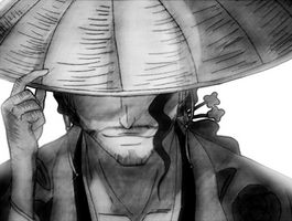 Captain Kyoraku by Noctyk