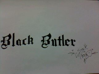 Black Butler by SilvarEnO