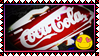Stamp: we lovE CocaCola by SilvarEnO