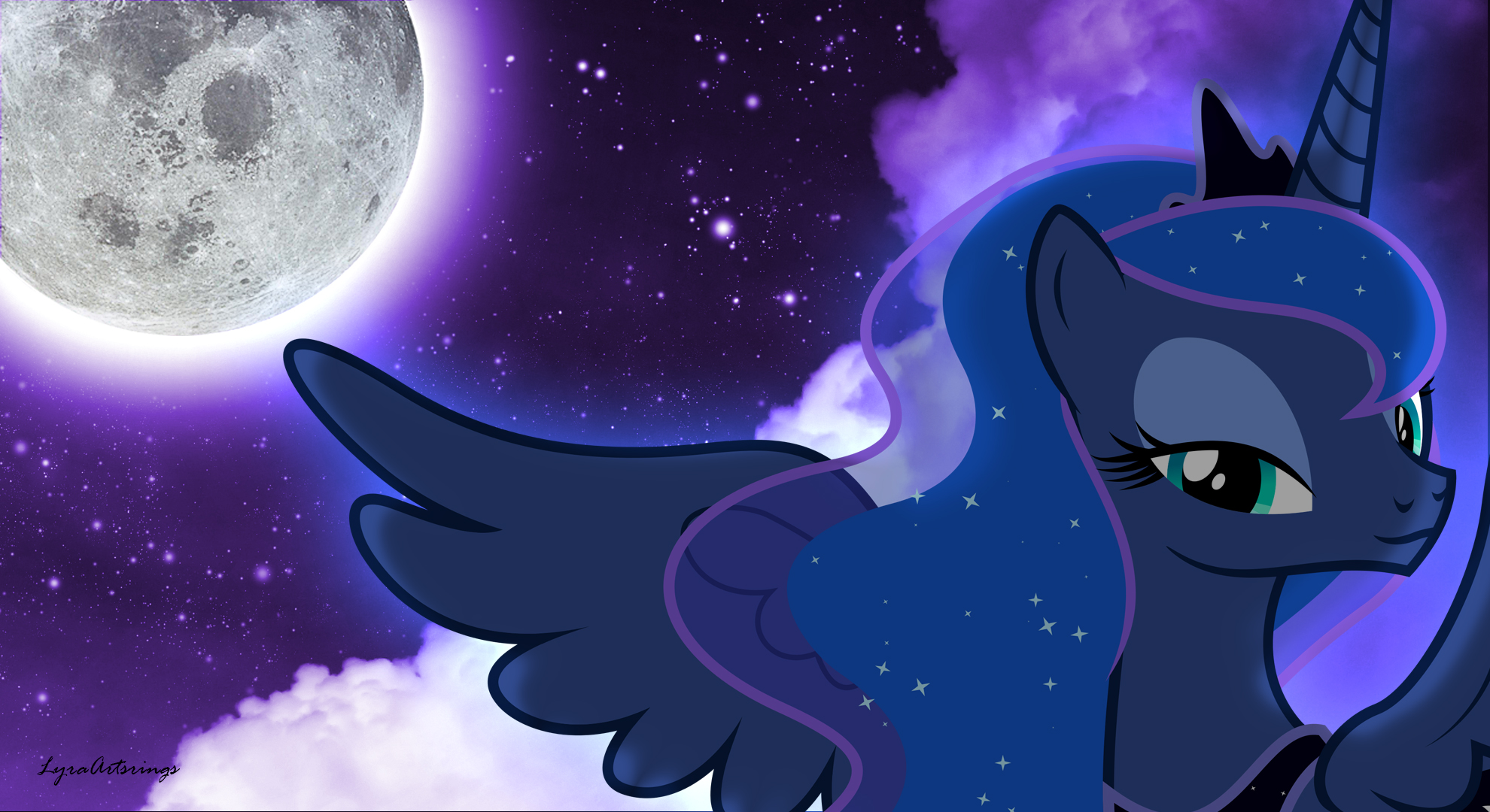 Princess Luna Wallpaper #2 (1980 X 1080) By LyraArtstrings ...