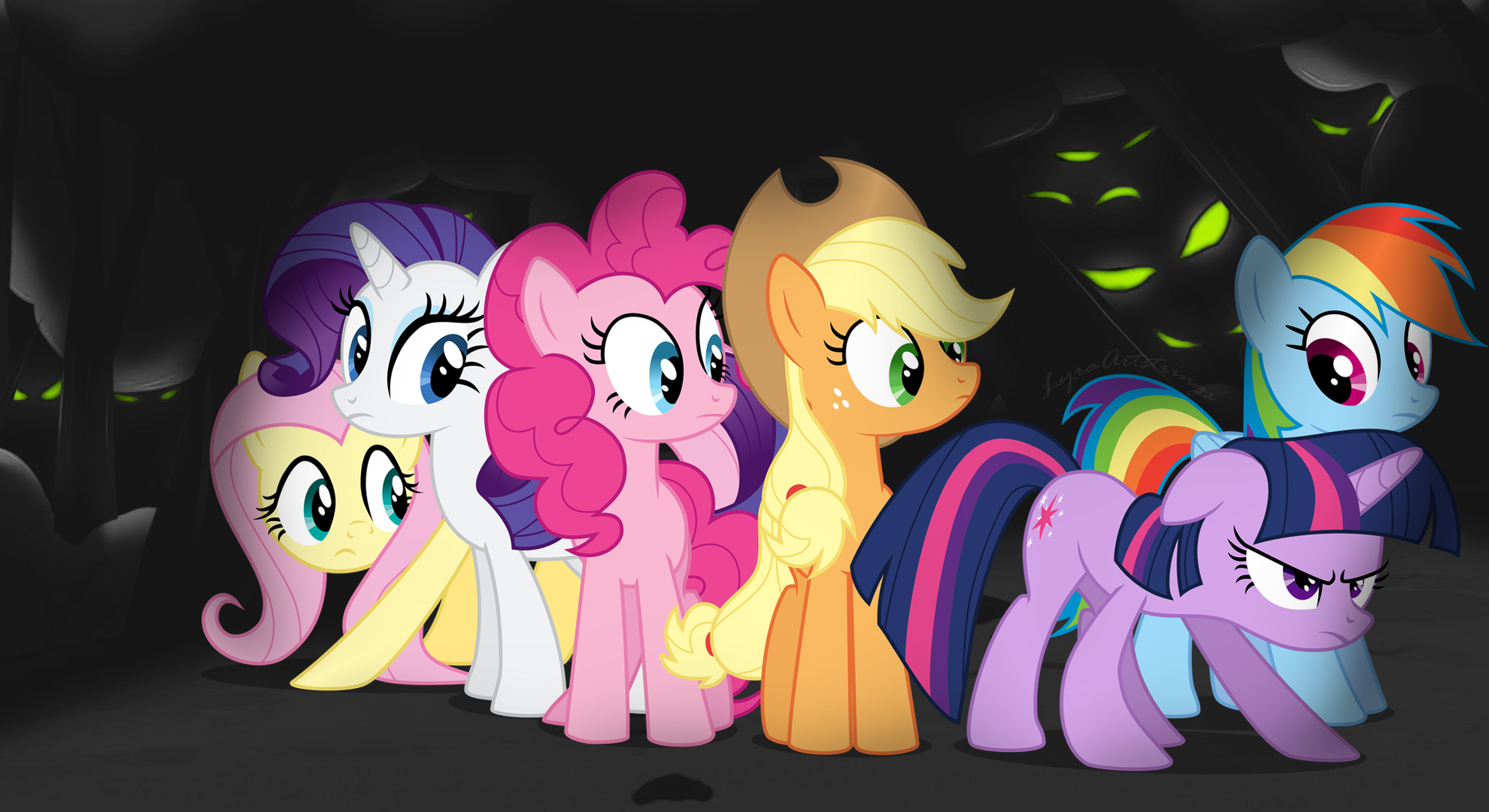 android mane 6 wallpaper - photo #2