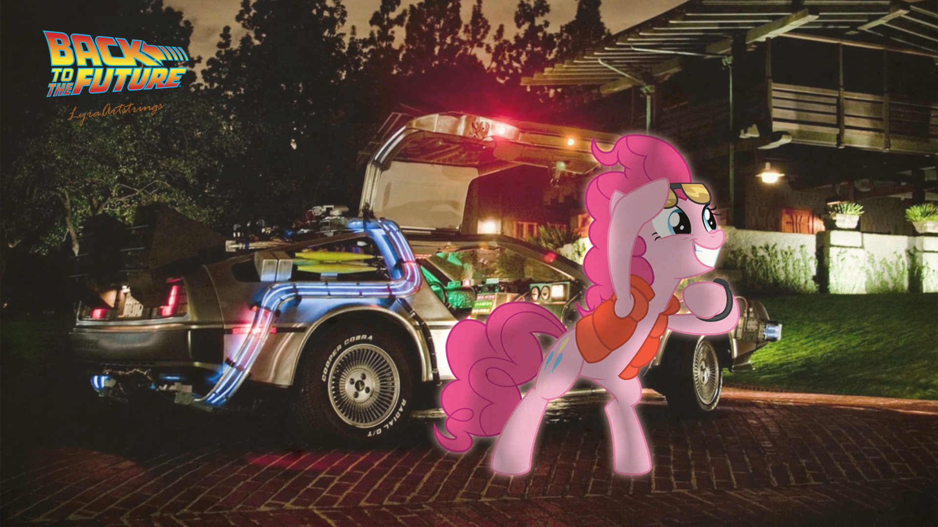MLP Back To Future Wallpaper (1920 X 1080) By