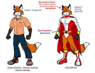 Solar Fox concept sketch by mitofox