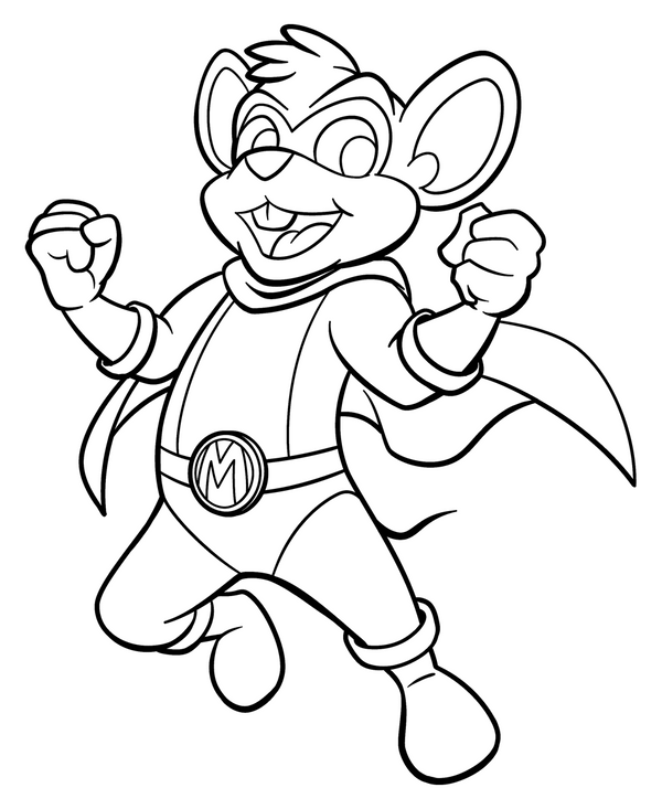 danger mouse coloring pages - photo#19