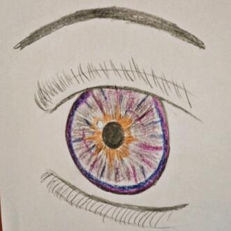 eye :c hahaha by Bel-boo