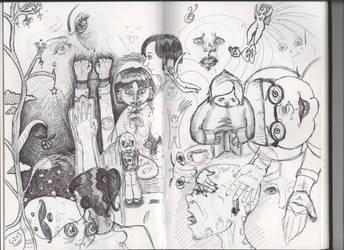 Sketch Journal Brain Dump by NeedsMoreKetchup