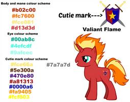 My MLP OC: Valiant Flame