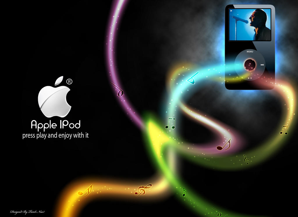 apple ipod by 5835178