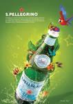 san-pellegrino water poster