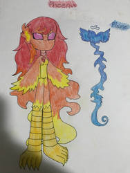 Phoenix And Flame