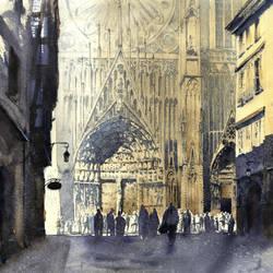 Strasbourg Cathedral by jGospodarek