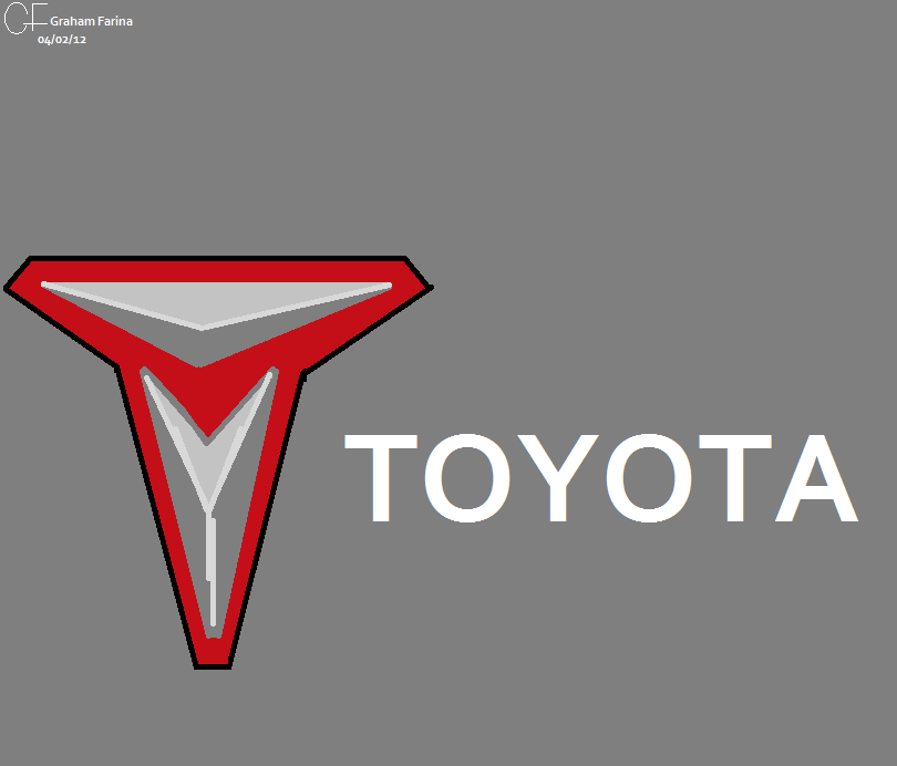 Toyota emblem (old) by MahBoi-DINNER