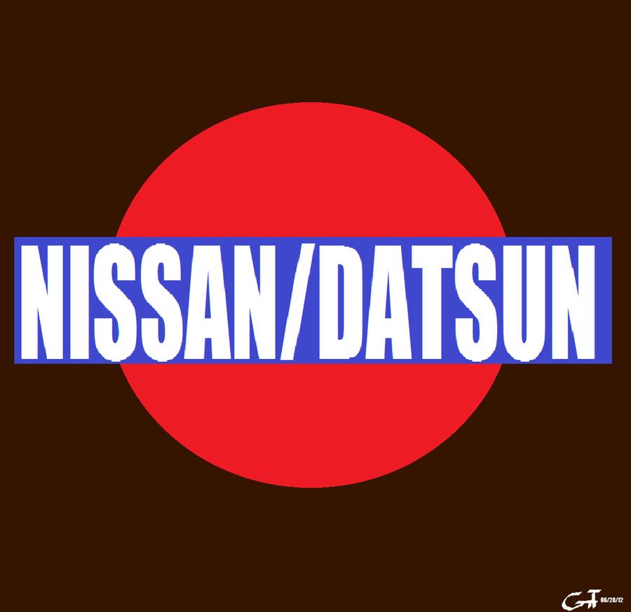 Nissan Logo Wallpaper: Nissan/Datsun Logo By MahBoi-DINNER On DeviantArt